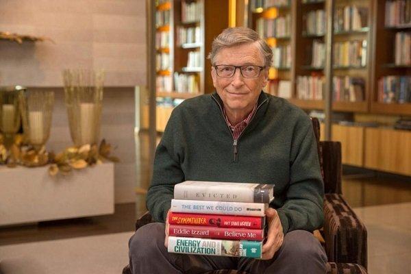 بیل گیتس 5 کتاب محبوبش در سال 2017 را معرفی کرد
