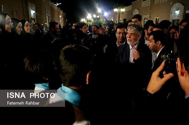 اختتامیه بازارچه جشن بهار همدلی با حضور وزیر ارشاد